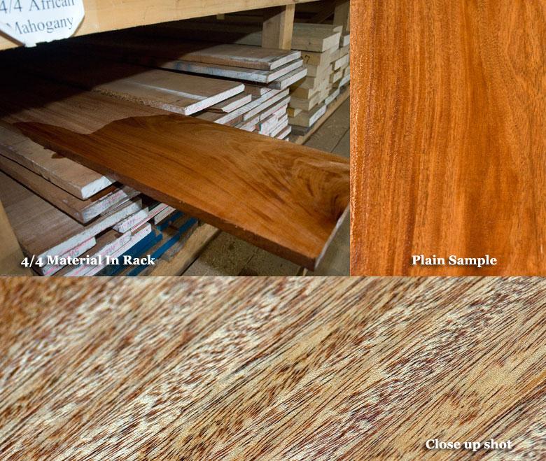 african mahognay wood sample pics