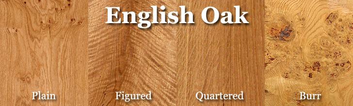 english oak wood