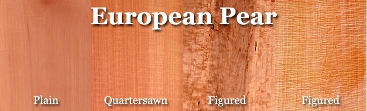 european pear wood, pearwood, swiss pear wood