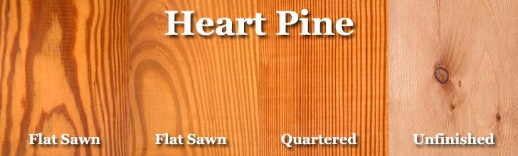 heart pine wood