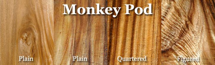 monkey pod wood