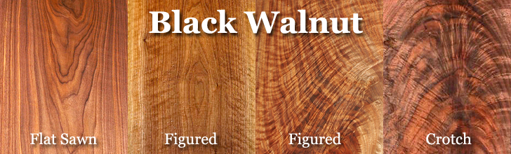black walnut lumber