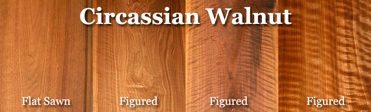 circassian walnut lumber