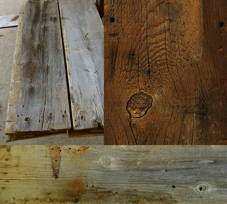 reclaimed barn siding sample photo