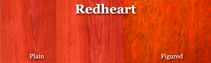 redheart wood