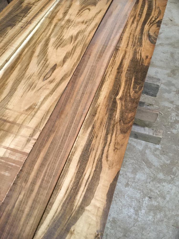 4/4 Goncalo Alves (Tigerwood) in stock at Hearne Hardwoods Inc.